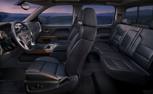 2014 GMC Sierra to Get Safety Alert Vibrating Seat