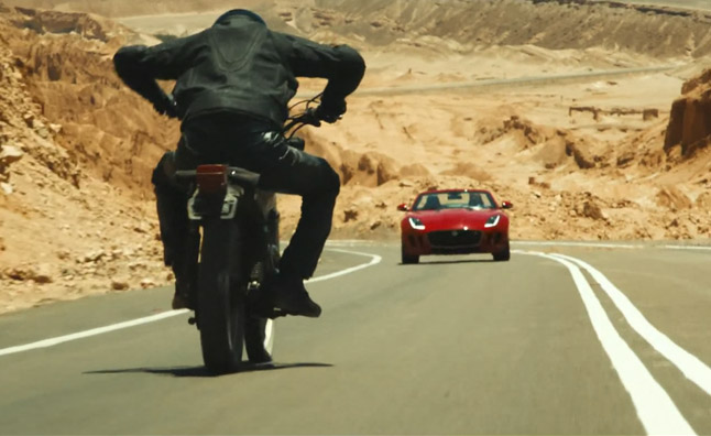 Watch Jaguar's F-Type Short Film 'Desire'