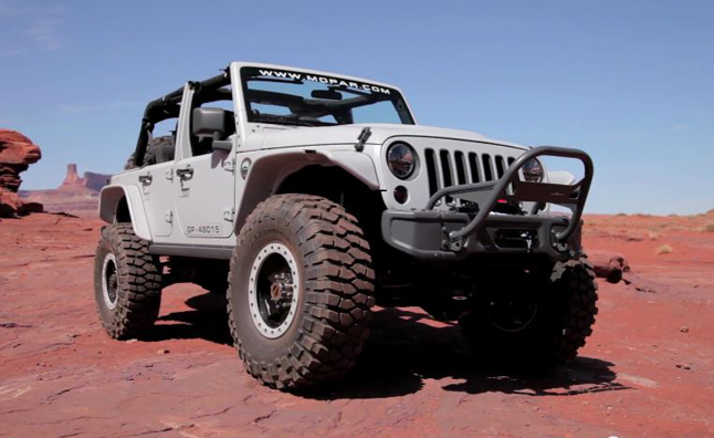Jeep Mopar Recon Concept Video, First Look