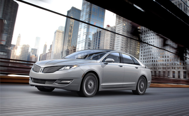 All-New 2013 Lincoln MKZ Hybrid