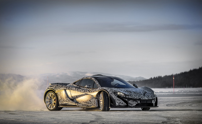 McLaren P1 Filmed Testing at the Arctic Circle – Video