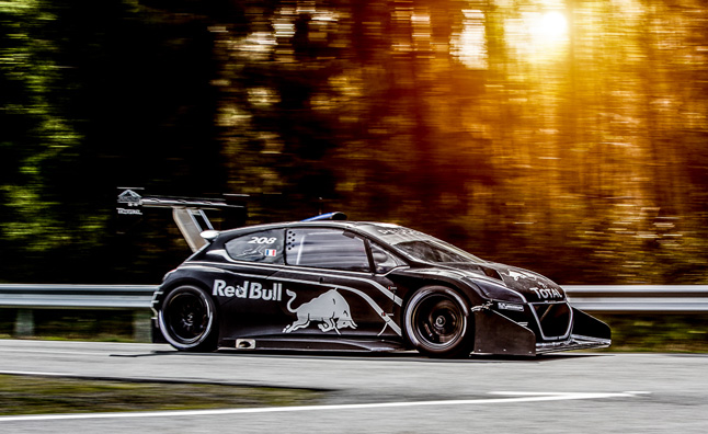 Peugeot Pikes Peak Racer Gets 875-HP, Giant Wing
