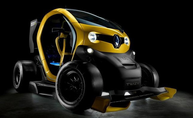 Renault Twizy Sport F1 Concept is Race Ready with KERS