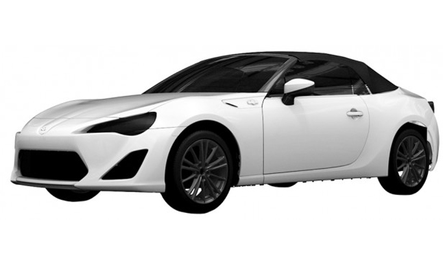 Toyota FT86 Open Concept Patent Hints at Production