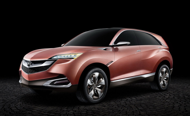 Acura Concept SUV-X Makes World Premiere in Shanghai