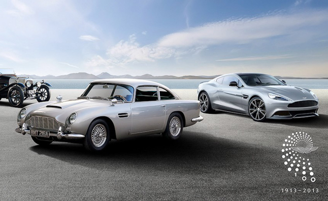 Aston Martin Centenary Celebration Adds European Tour