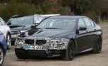 BMW M5 Facelift Spied at Nurburgring