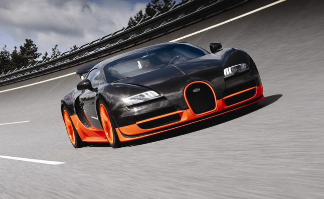 Bugatti Veyron Super Sport Stripped of Guinness World Record for Fastest Production Car