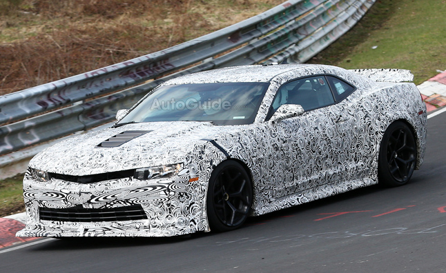 2014 Chevrolet Camaro Z/28 Spied Lapping the Nurburgring