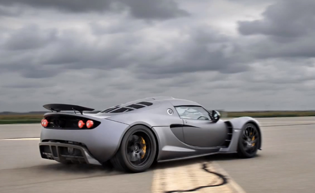 Hennessey Venom GT Beats Veyron Top Speed… Sort Of
