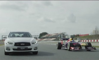 Infiniti Red Bull Racing Head to the Track with Vettel Edition Models  Video