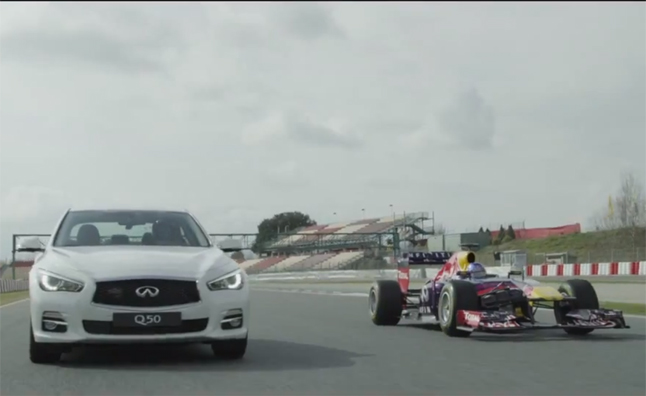 Infiniti Red Bull Racing Head to the Track with Vettel Edition Models – Video