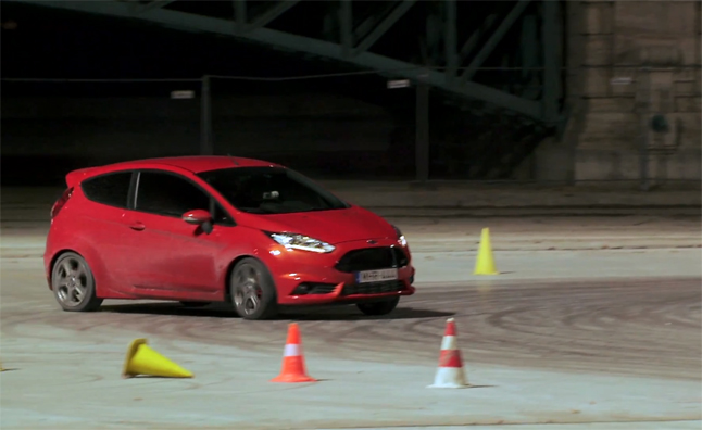 Ken Block Takes Ford Fiesta ST Hooning in Budapest – Video