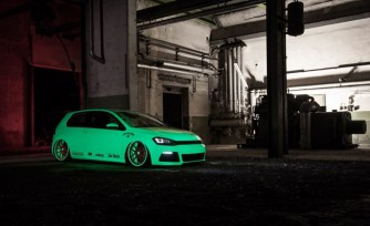 Glow-in-the-Dark VW Golf Will Play with your Emotions
