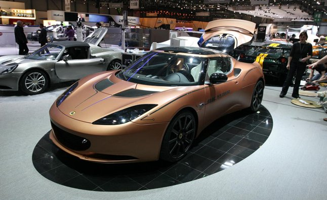 Lotus Evora 414E Hybrid Wins SAE World Congress Tech Award