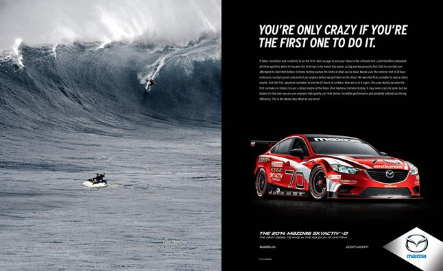 Mazda Announces 'Game Changers' Advertising Campaign
