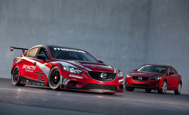 mazda6 akyactiv d race car