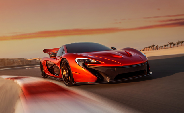 McLaren P1 Looks Stunning in New Gallery