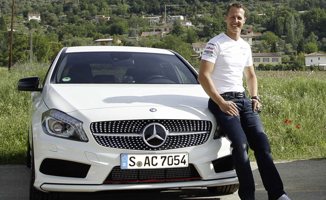 Michael Schumacher Named Mercedes-Benz Ambassador