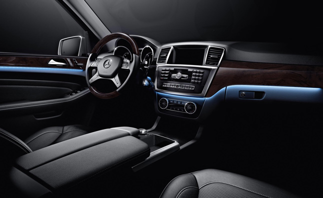 mercedes-ml350-interior