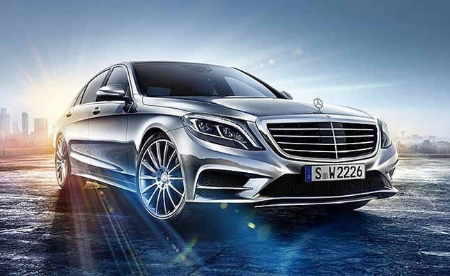 2014 Mercedes S-Class First Official Photo Released