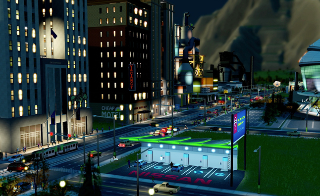 Nissan Leaf Brings Electric Cars to SimCity – Video