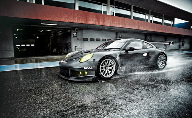 Car Porn: Porsche 911 RSR Hits the Track in its Carbon Fiber Skin