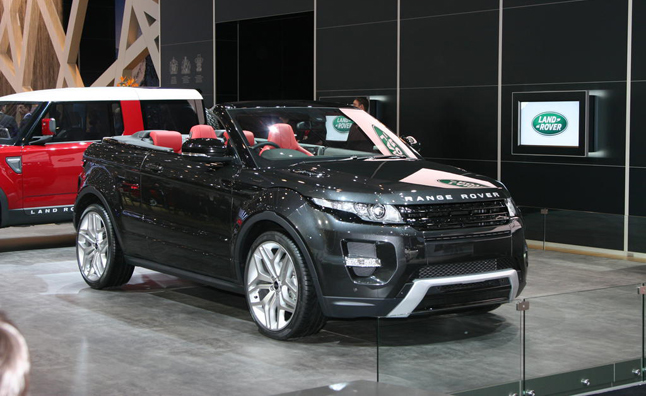 Range Rover Evoque Convertible Unlikely