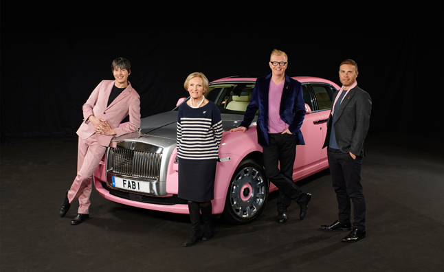 Rolls-Royce Donates Pink Ghost to Support FAB1 Million and Breast Cancer Care