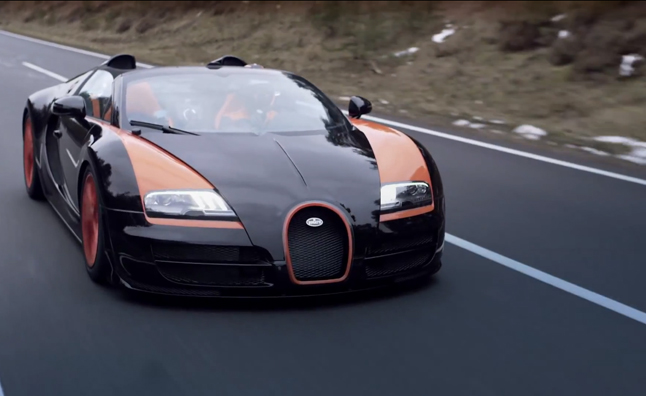 Bugatti Veyron Grand Sport Vitesse Breaks Land Speed Record – Video