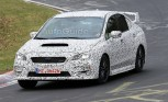 New Subaru WRX Spied Track Testing on Nurburgring