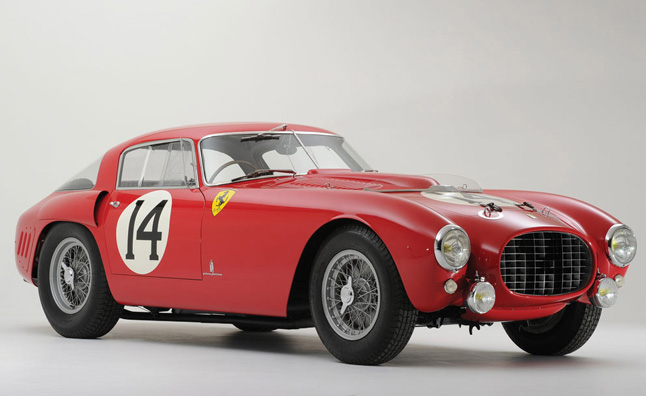 1953 Ferrari Le Mans Race Car Fetches $12.7 Million