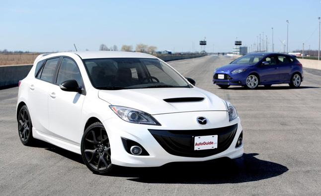 2013-Ford-Focus-ST-vs-2013-Mazdaspeed3