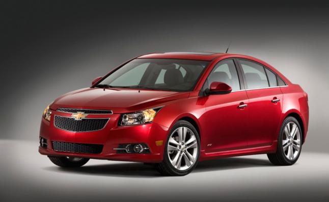 2014 Chevy Cruze Getting MPG Boost
