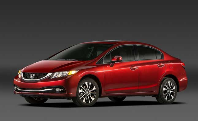 2013 Honda Civic Receives Five-Star Safety Rating