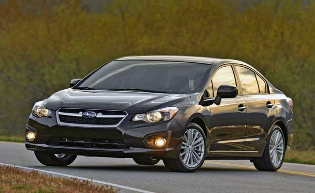 Subaru Impreza to be Made in America Starting in 2016