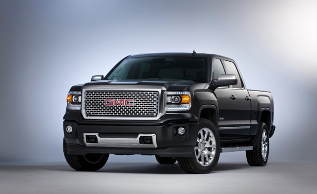2014 GMC Sierra Denali Revealed, 6.2L Rated at 450 lb-ft