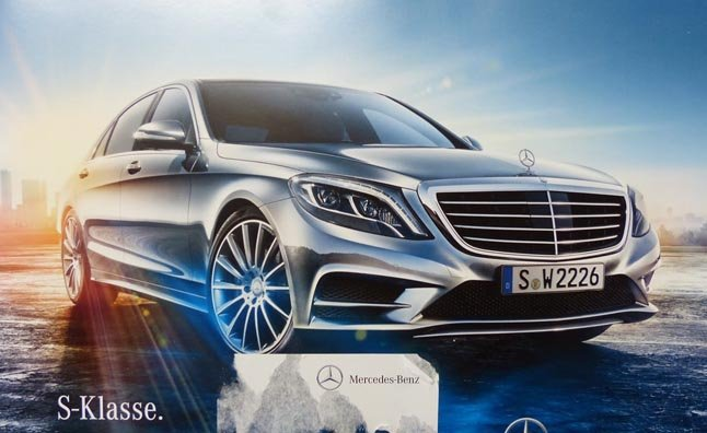 2014 Mercedes S-Class Details Leaked in Brochure