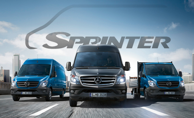 2014 Mercedes Sprinter: Product Preview