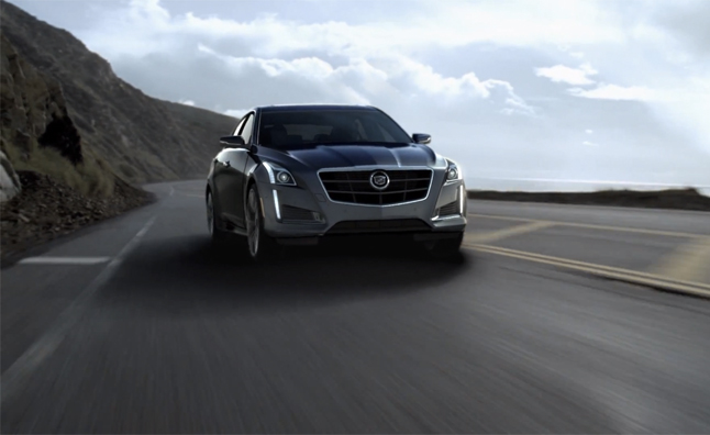 2014 Cadillac CTS Looks Gorgeous Even in CGI  Video