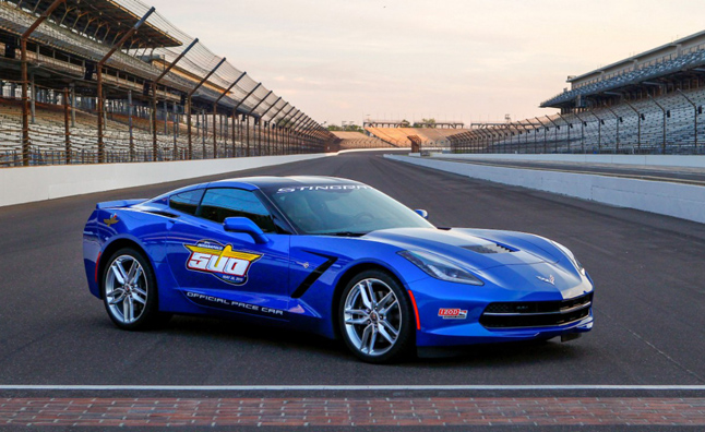 2014 Corvette Stingray to Pace 2013 Indy 500