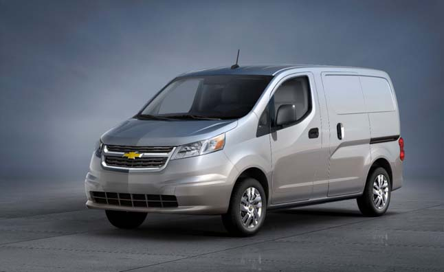 Chevrolet Announces Re-Badged Nissan NV200