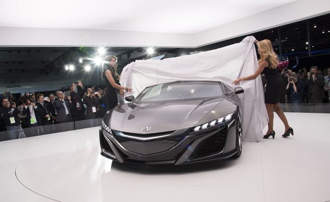2015 Acura NSX Preview