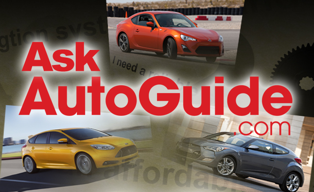 Ask AutoGuide No. 9 – Scion FR-S vs. Ford Focus ST vs. Hyundai Veloster Turbo