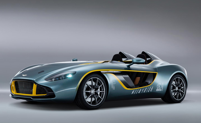 Aston Martin CC100 Speedster Concept Celebrates the Past, Inspires the Future