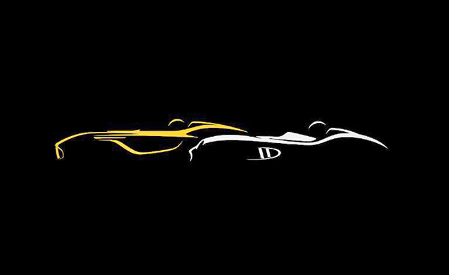 Aston Martin Teasing New Concept Car