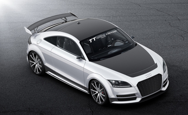 Audi TT Ultra Quattro Concept Detailed in Mega Gallery