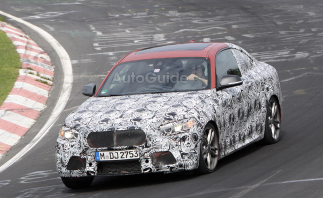 BMW 2 Series Spotted Testing at the Nürburgring