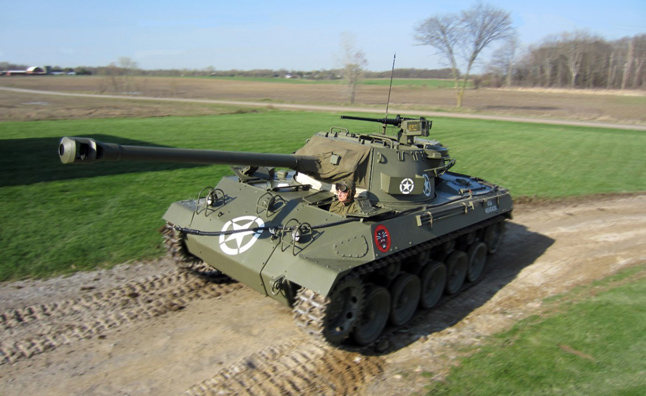 Buick Highlights WWII Tank to Celebrate V-E Day
