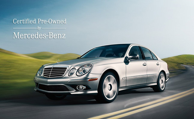 Certified preo owned mb